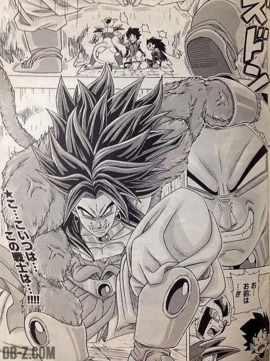 Broly Super Saiyan 4 Dragon Ball Heroes