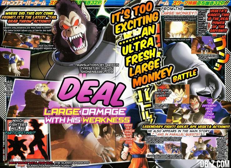 Dragon Ball xenoverse oozaru bardock